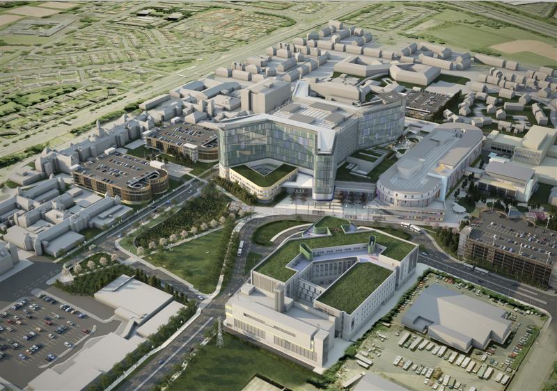 Megaproyecto I: Nuevo Hospital de Adultos y Niños (NSGH) en Glasgow