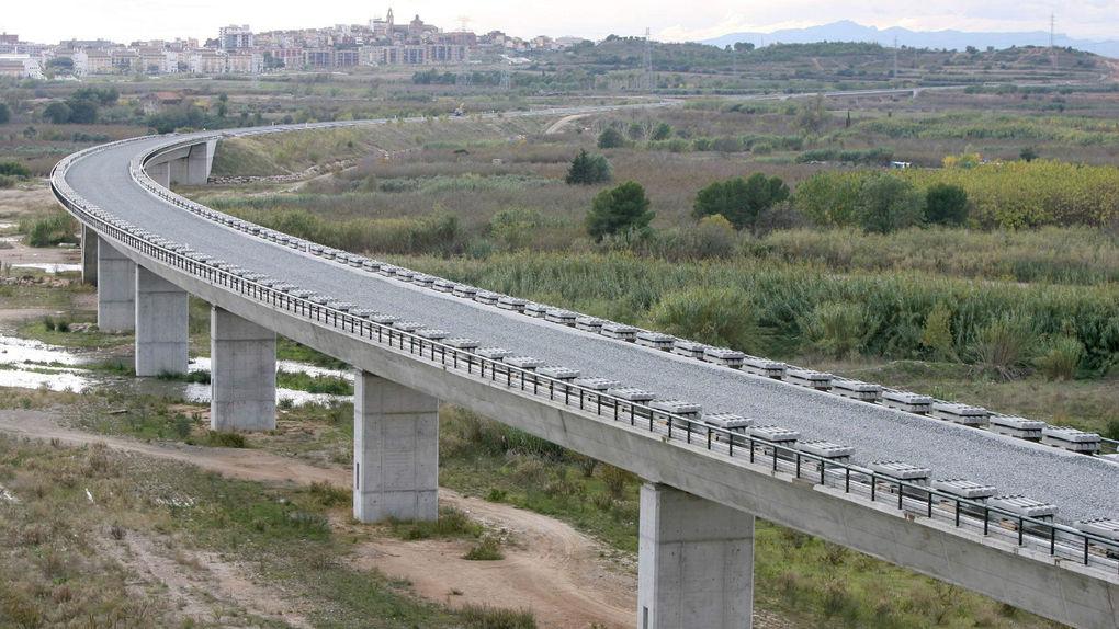 Caída de la obra pública en España