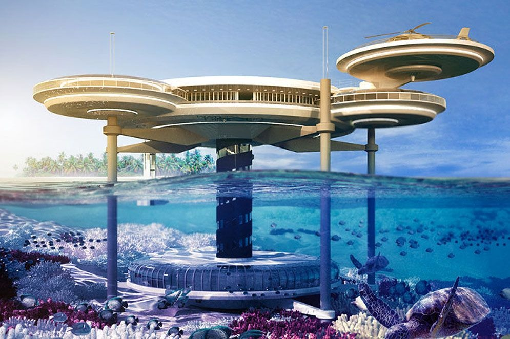 The water Discus Hotel: primer hotel subacuático del mundo