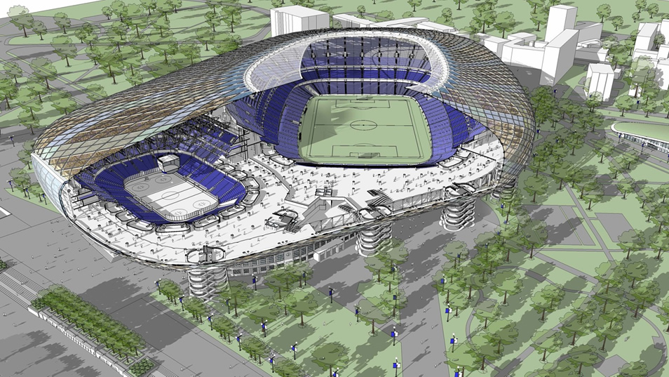 Moscow VTB Stadium & Arena