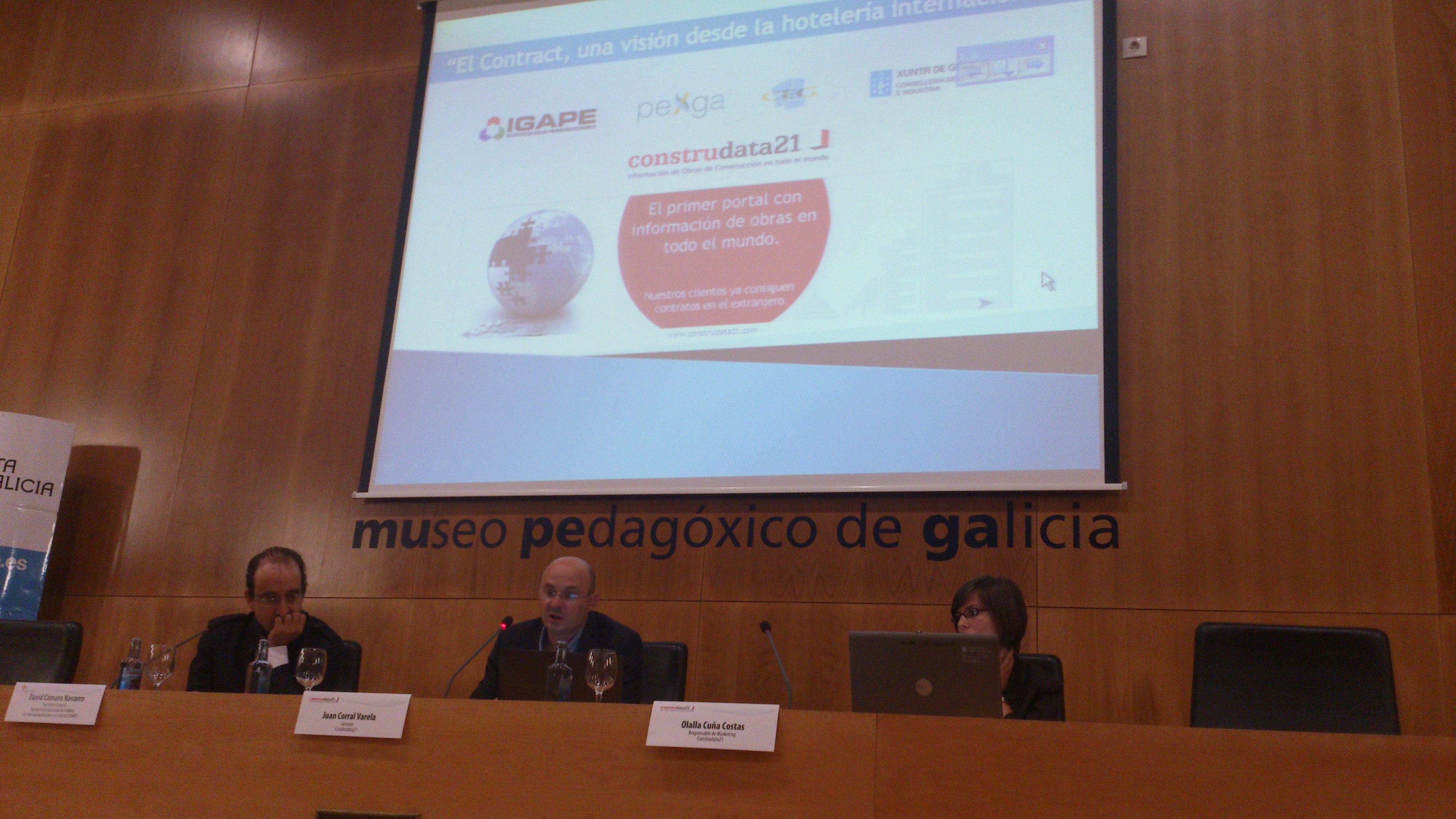 """Construdata21 en la Jornada """"El Contract: una visión desde la hotelería internacional"""""""
