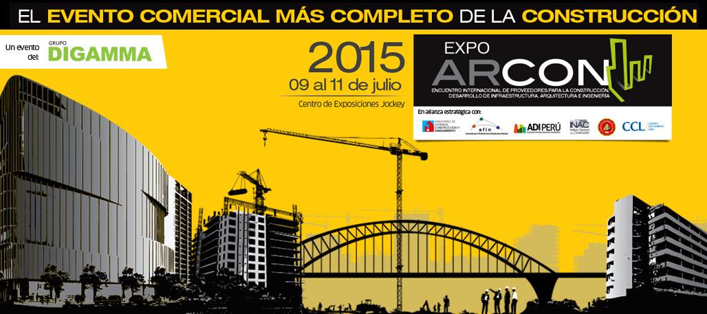 #ExpoArcon2015 ya está aquí!
