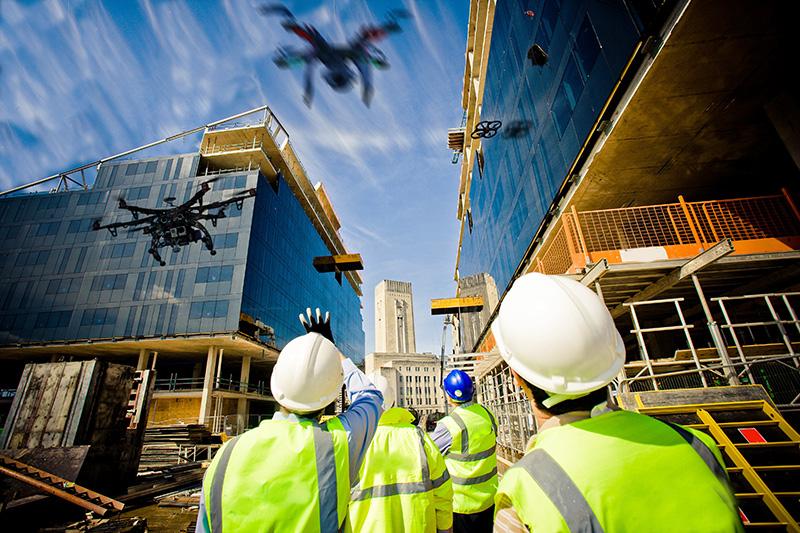 Drones & Construcción