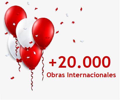 + de 20.000 obras internacionales!